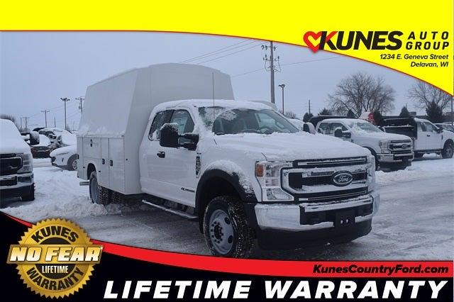 2021 Ford F-550 Super Cab DRW 4x4, Knapheide Service Body #FT14741 - photo 1