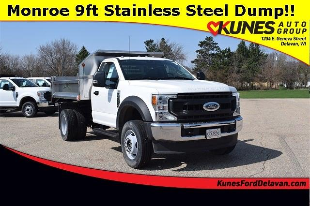 2020 Ford F-600 Regular Cab DRW 4x4, Monroe Dump Body #FT14744 - photo 1