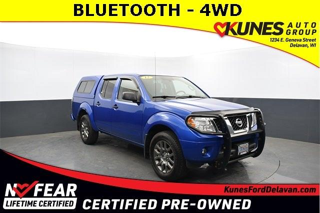 2012 Nissan Frontier Crew Cab 4x4, Pickup #FT15072A - photo 1