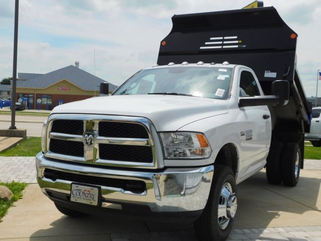 2018 Ram 3500 Regular Cab DRW 4x4,  Monroe Dump Body #DT03183 - photo 12