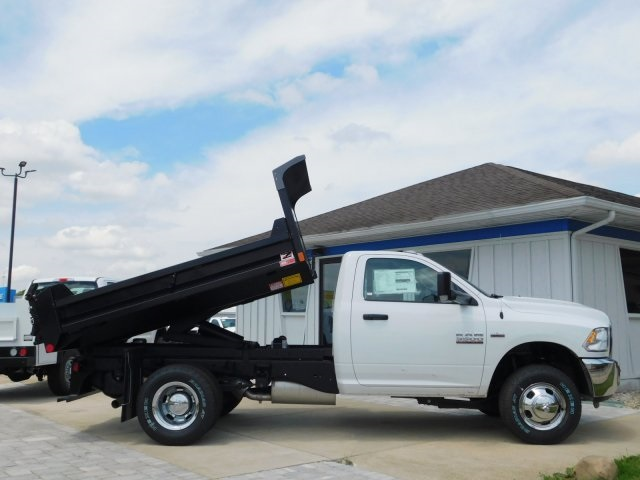 2018 Ram 3500 Regular Cab DRW 4x4,  Monroe Dump Body #DT03183 - photo 3