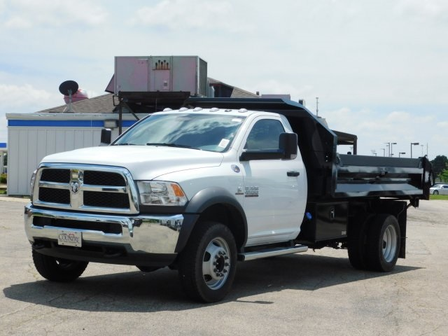 2018 Ram 4500 Regular Cab DRW 4x4,  Knapheide Dump Body #DT03214 - photo 9