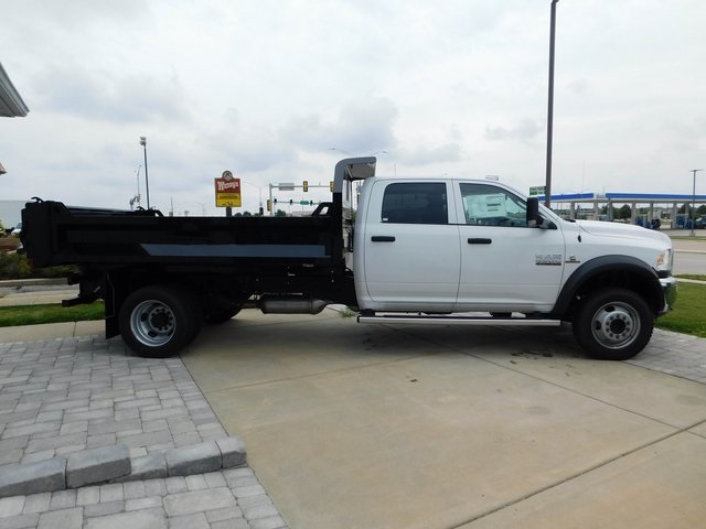 2018 Ram 5500 Crew Cab DRW 4x4,  Knapheide Drop Side Dump Body #DT03215 - photo 3