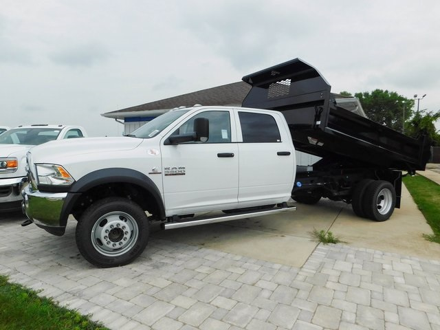 2018 Ram 5500 Crew Cab DRW 4x4,  Knapheide Dump Body #DT03215 - photo 19