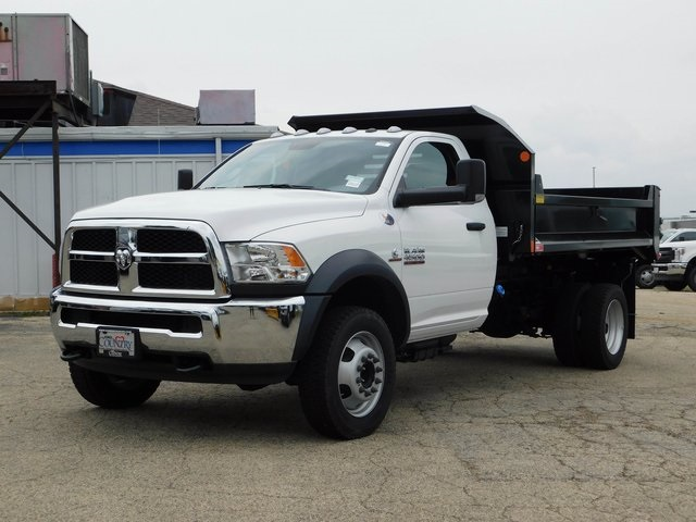 2018 Ram 4500 Regular Cab DRW 4x4,  Monroe Dump Body #DT03241 - photo 8