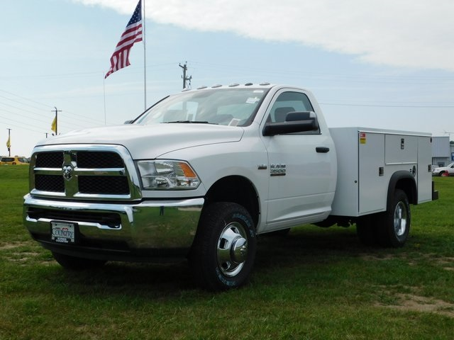 2018 Ram 3500 Regular Cab DRW 4x4,  Monroe Service Body #DT03339 - photo 9
