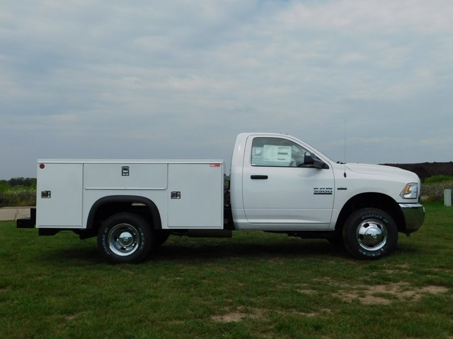 2018 Ram 3500 Regular Cab DRW 4x4,  Monroe Service Body #DT03339 - photo 3