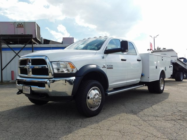 2018 Ram 4500 Crew Cab DRW 4x4,  Knapheide Service Body #DT03386 - photo 8