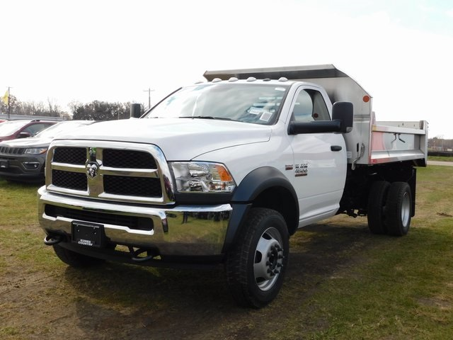 2018 Ram 4500 Regular Cab DRW 4x4,  Monroe Dump Body #DT03553 - photo 8
