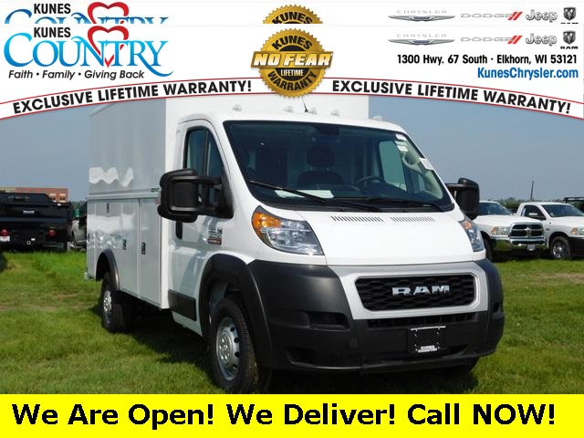 2019 Ram ProMaster 3500 Standard Roof FWD, Reading Service Utility Van #DT03988 - photo 1
