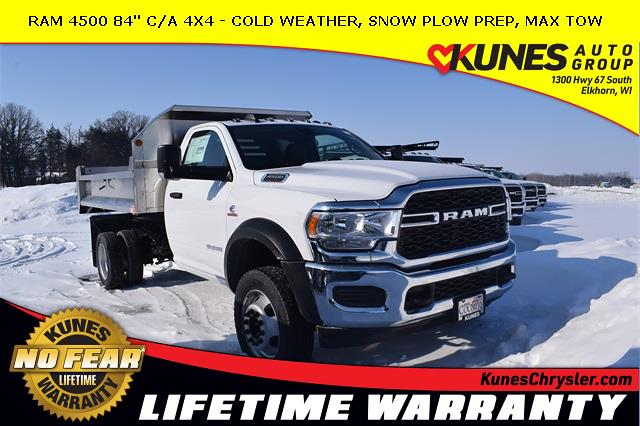 2020 Ram 4500 Regular Cab DRW 4x4, Monroe Dump Body #DT05150 - photo 1