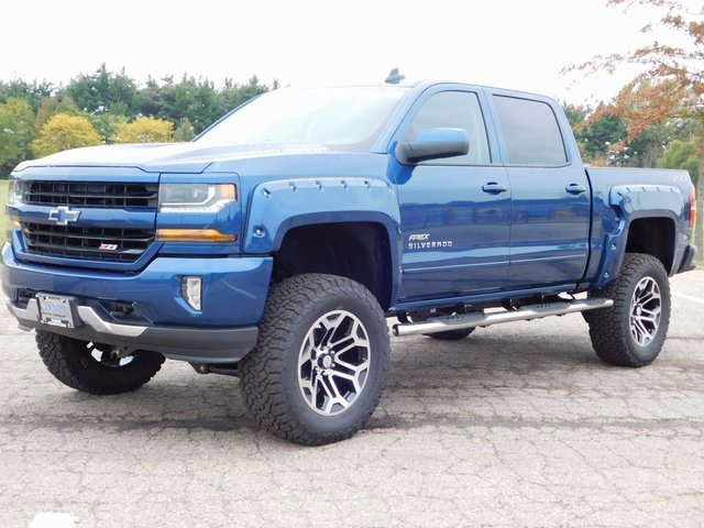 2018 Silverado 1500 Crew Cab 4x4,  Pickup #GT02337 - photo 6