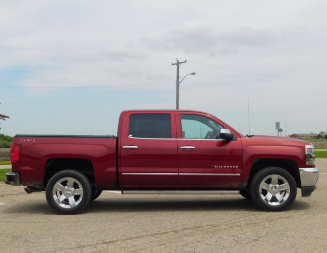 2018 Silverado 1500 Crew Cab 4x4,  Pickup #GT02668 - photo 3