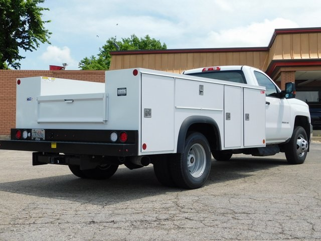 2018 Silverado 3500 Regular Cab DRW 4x2,  Monroe Service Body #GT02761 - photo 2