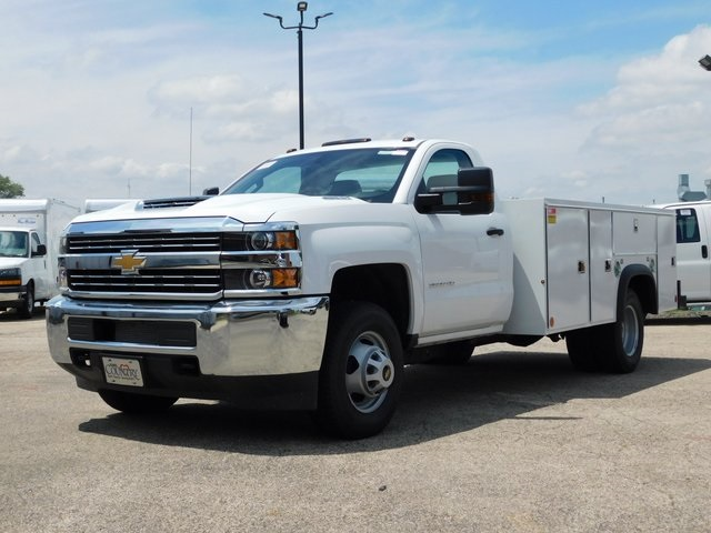 2018 Silverado 3500 Regular Cab DRW 4x2,  Monroe Service Body #GT02761 - photo 7