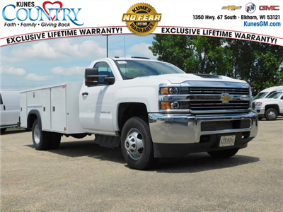 2018 Silverado 3500 Regular Cab DRW 4x2,  Monroe MSS II Service Body #GT02761 - photo 1