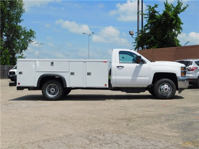 2018 Silverado 3500 Regular Cab DRW 4x2,  Monroe MSS II Service Body #GT02761 - photo 3