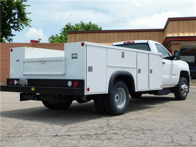 2018 Silverado 3500 Regular Cab DRW 4x2,  Monroe MSS II Service Body #GT02761 - photo 2