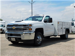 2018 Silverado 3500 Regular Cab DRW 4x2,  Monroe MSS II Service Body #GT02761 - photo 7
