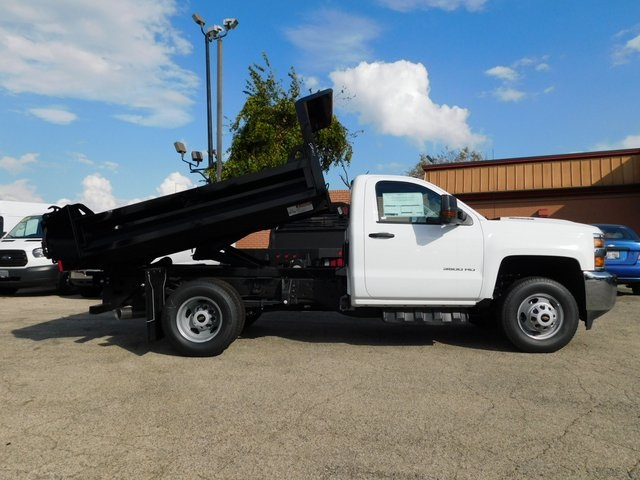 2019 Silverado 3500 Regular Cab DRW 4x4,  Knapheide Dump Body #GT02846 - photo 3