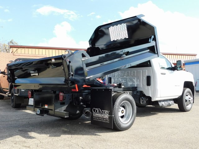 2019 Silverado 3500 Regular Cab DRW 4x4,  Knapheide Dump Body #GT02846 - photo 2