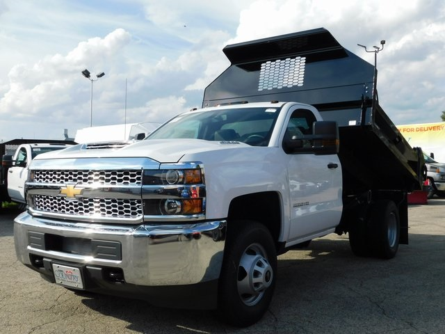 2019 Silverado 3500 Regular Cab DRW 4x4,  Knapheide Dump Body #GT02846 - photo 7
