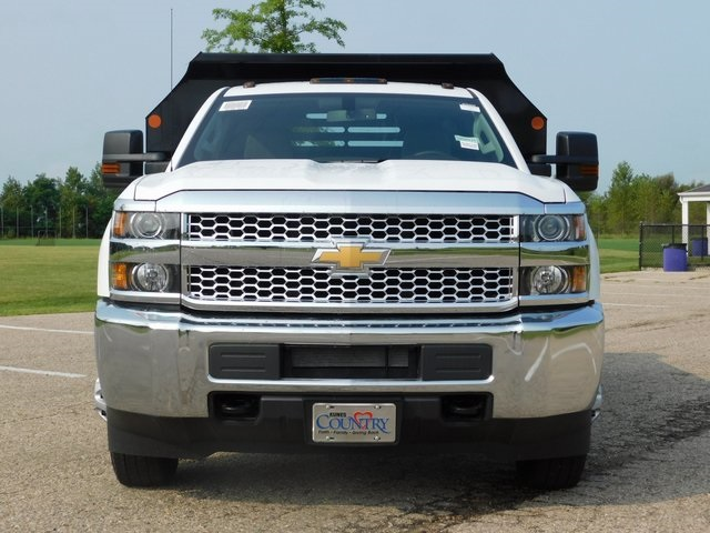 2019 Silverado 3500 Regular Cab DRW 4x4,  Monroe Dump Body #GT02847 - photo 9