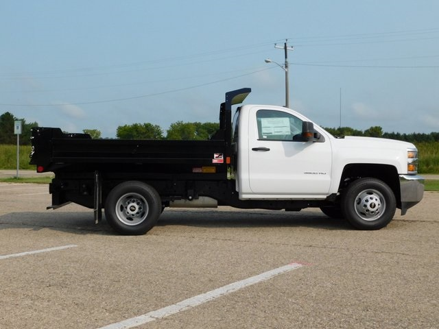 2019 Silverado 3500 Regular Cab DRW 4x4,  Monroe Dump Body #GT02847 - photo 3