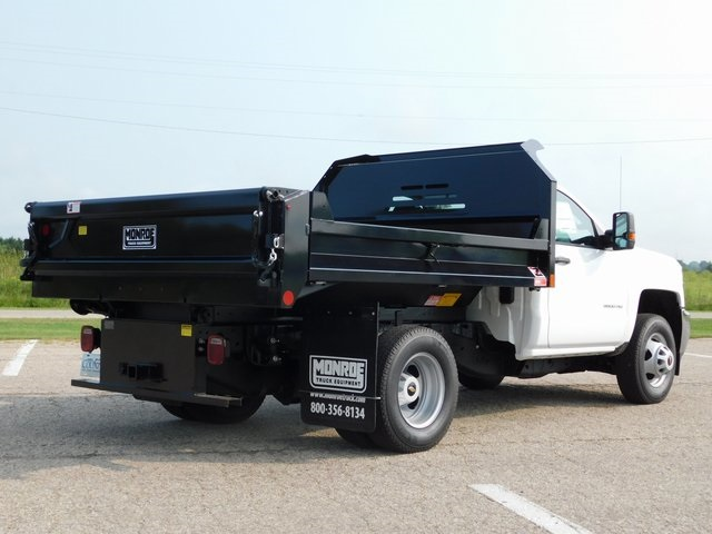 2019 Silverado 3500 Regular Cab DRW 4x4,  Monroe Dump Body #GT02847 - photo 2