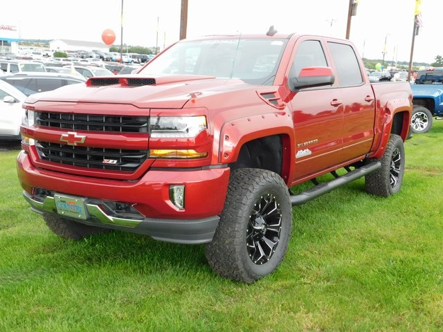 2018 Silverado 1500 Crew Cab 4x4,  Pickup #GT02893 - photo 10