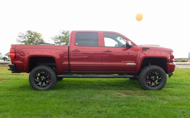 2018 Silverado 1500 Crew Cab 4x4,  Pickup #GT02893 - photo 3