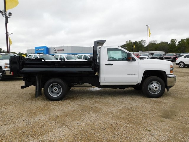 2019 Silverado 3500 Regular Cab DRW 4x4,  Knapheide Dump Body #GT02912 - photo 3