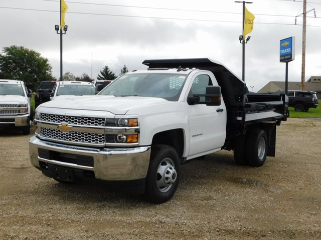 2019 Silverado 3500 Regular Cab DRW 4x4,  Knapheide Dump Body #GT02912 - photo 8