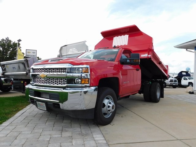 2019 Silverado 3500 Regular Cab DRW 4x4,  Knapheide Dump Body #GT02940 - photo 8