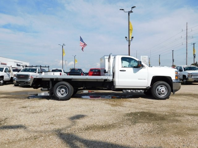 2019 Silverado 3500 Regular Cab DRW 4x4,  Knapheide Platform Body #GT02941 - photo 3