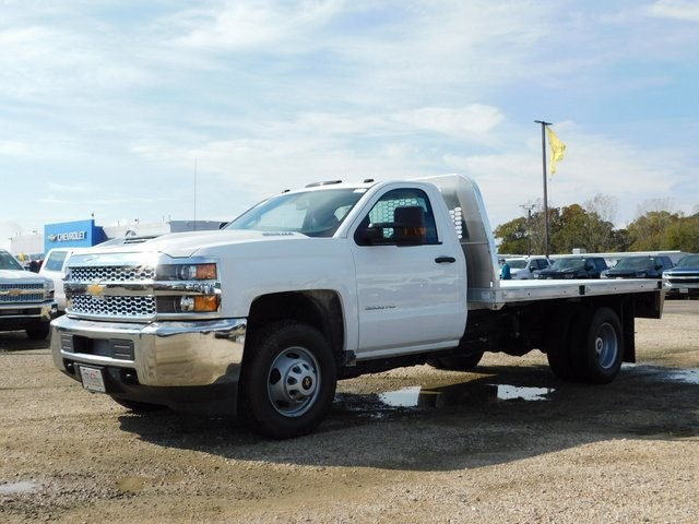 2019 Silverado 3500 Regular Cab DRW 4x4,  Knapheide Platform Body #GT02941 - photo 7