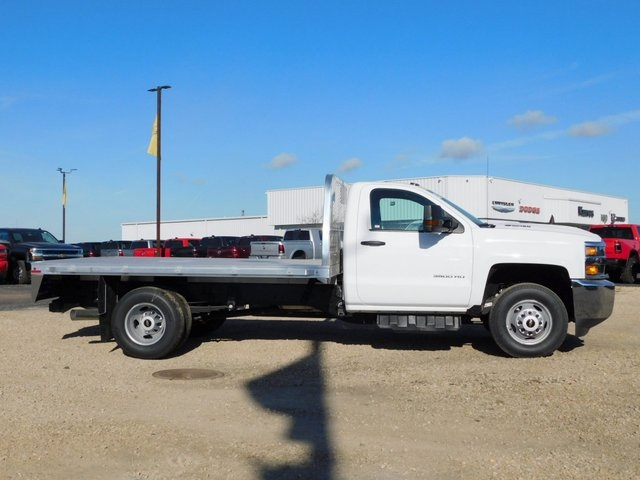 2019 Silverado 3500 Regular Cab DRW 4x4,  Knapheide Platform Body #GT02942 - photo 3