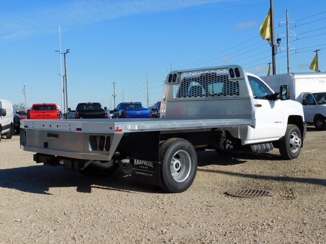 2019 Silverado 3500 Regular Cab DRW 4x4,  Knapheide Platform Body #GT02942 - photo 2
