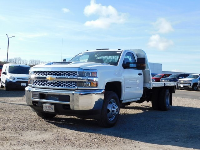 2019 Silverado 3500 Regular Cab DRW 4x4,  Knapheide Platform Body #GT02942 - photo 8