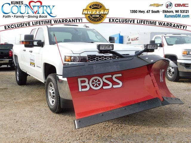 2019 Silverado 2500 Double Cab 4x4, BOSS Pickup #GT03478 - photo 1