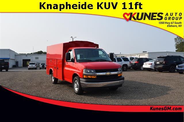 2020 Chevrolet Express 3500 4x2, Knapheide Service Utility Van #GT04236 - photo 1