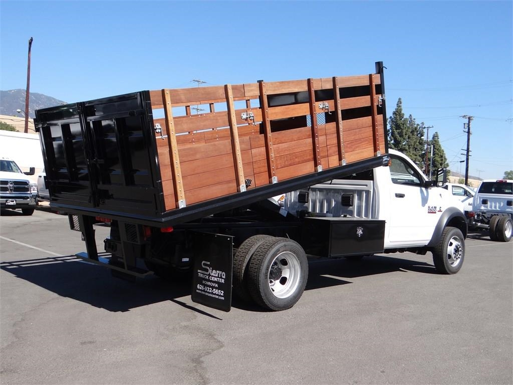 2018 Ram 5500 Regular Cab DRW 4x2,  Martin's Quality Truck Body Landscape Dump #R1503T - photo 2