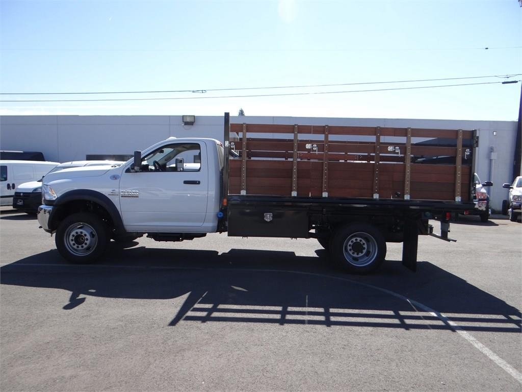 2018 Ram 5500 Regular Cab DRW 4x2,  Martin's Quality Truck Body Landscape Dump #R1503T - photo 6