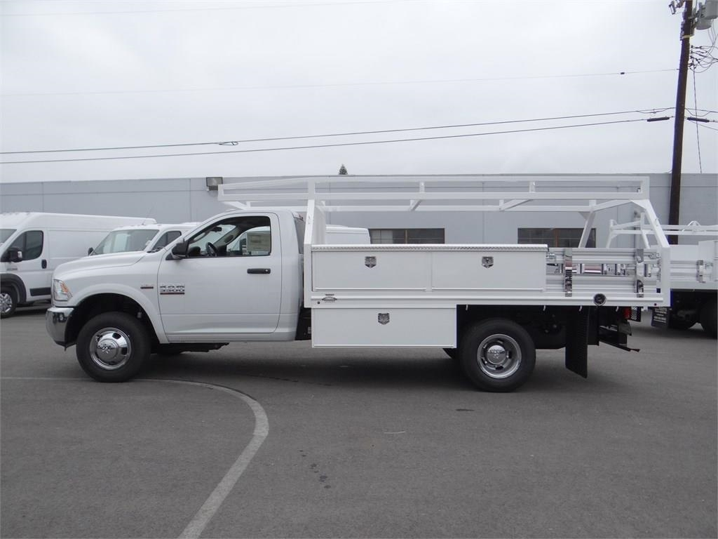 2018 Ram 3500 Regular Cab DRW 4x2,  Martin's Quality Truck Body Contractor Body #R1589T - photo 6