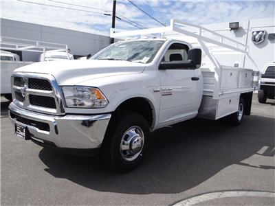 2018 Ram 3500 Regular Cab DRW 4x2,  Martin's Quality Truck Body Contractor Body #R1594T - photo 7
