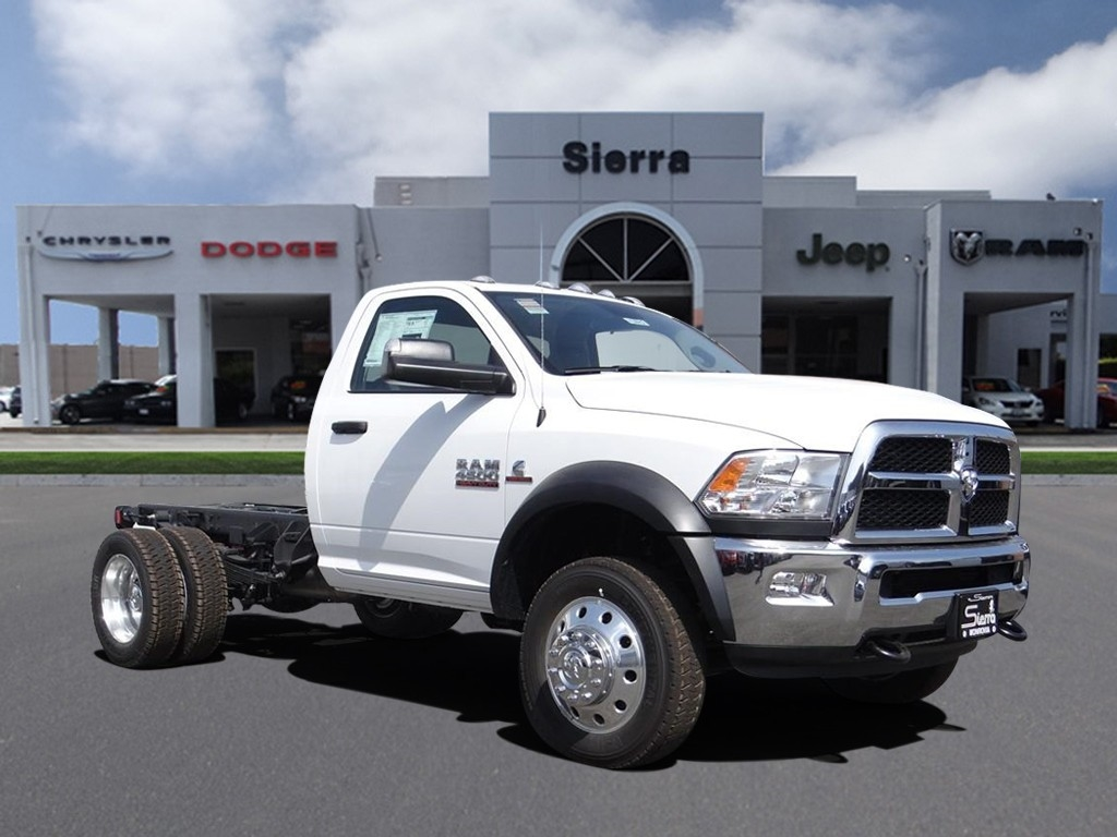 2018 Ram 4500 Regular Cab DRW 4x4,  Cab Chassis #R1673T - photo 1