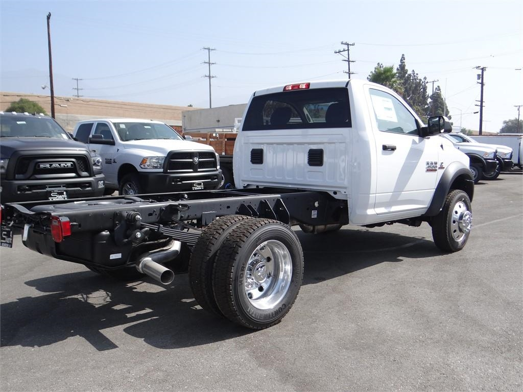 2018 Ram 4500 Regular Cab DRW 4x4,  Cab Chassis #R1673T - photo 2