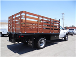 2018 Ram 5500 Regular Cab DRW 4x2,  Martin's Quality Truck Body Stake Bed #R1674T - photo 1