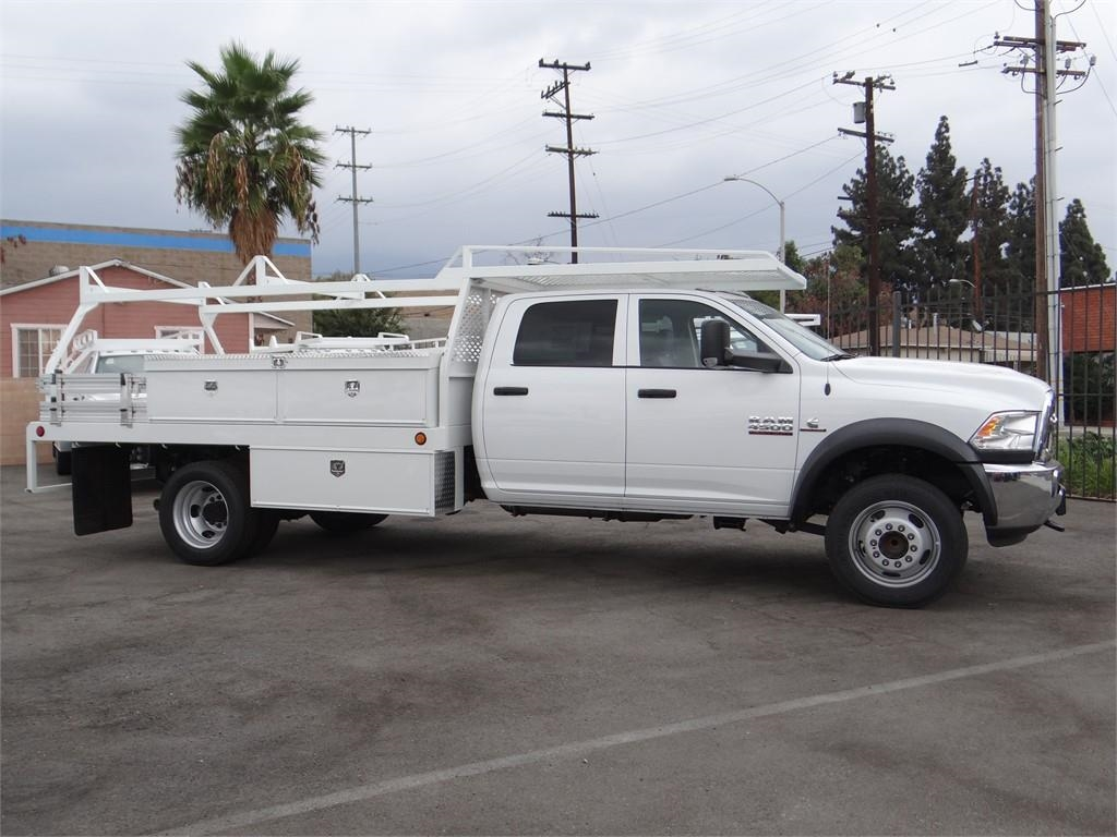 2018 Ram 4500 Crew Cab DRW 4x2,  Contractor Body #R1685T - photo 3
