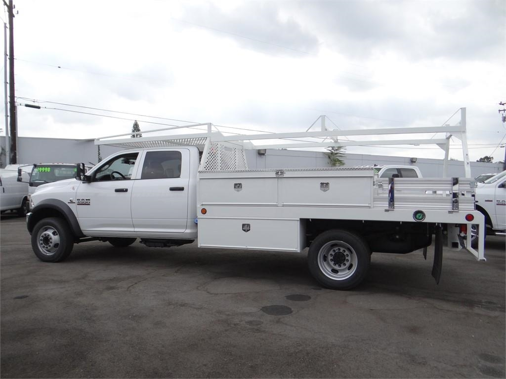 2018 Ram 4500 Crew Cab DRW 4x2,  Contractor Body #R1685T - photo 6